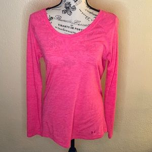 Under Armour Pink Long Sleeve Med